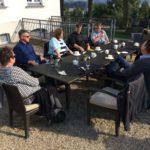 Kaffee, Schlossbesichtigung und Abendessen